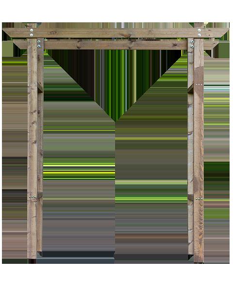 Деревянная арка Палапутта