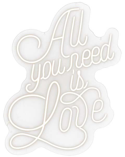 Все, что тебе нужно, — это любовь!